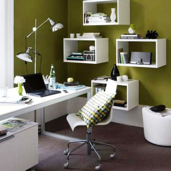 Awe Inspiring White Furniture Modern Home Office Decor Interior Ideas Largest Home Design Picture Inspirations Pitcheantrous