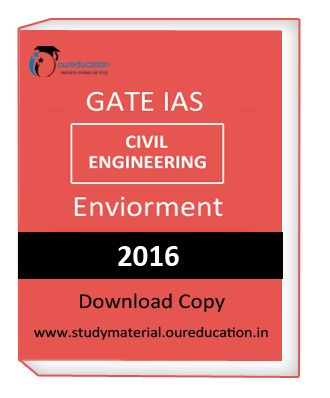 Get GATE IAS Civil Engineering Enviorment