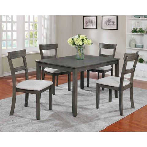 Henderson Grey Dining Collection Solid Wood Dining Set Dining
