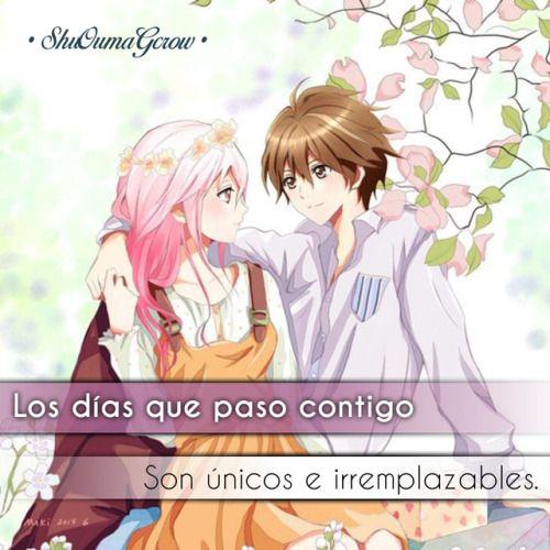 Anime Frases Anime Frase Sentimientos Shuoumagcrow Amor