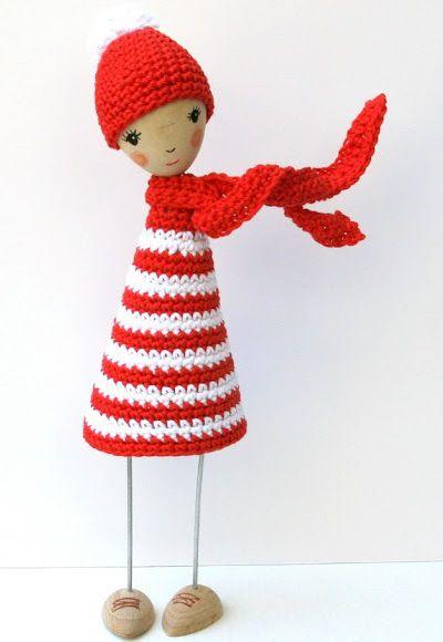 Fuente: http://isabellekessedjian.blogspot.com.es/2012/07/poupee-de-bois-au-crochet.html