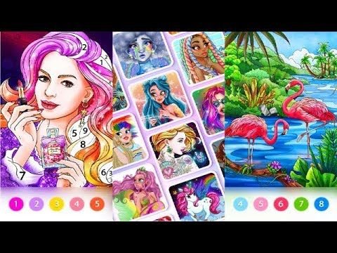 Coloring Fun Color By Number Games Apk For Android Techbigs In 2020 Number Games Games Fun