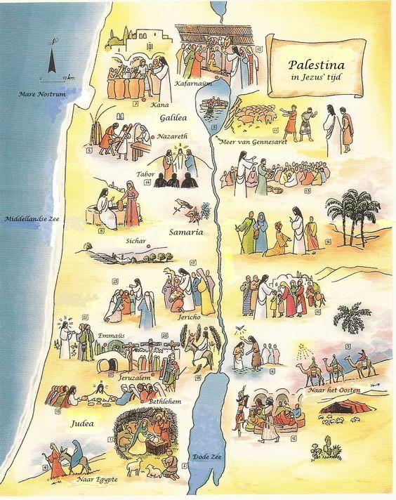 Palestina in Jezus' tijd: