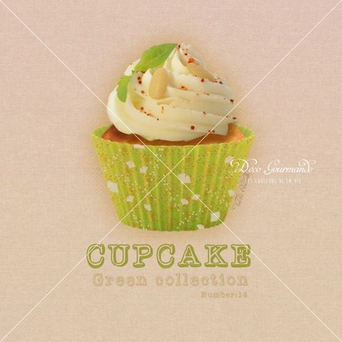 14-Cupcake-Green-collection-number-14