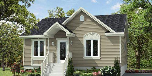Sainte Anne Modele De Maison Ou De Chalet Maison Usinex Floor Plans Ranch Modular Home Plans Modular Homes