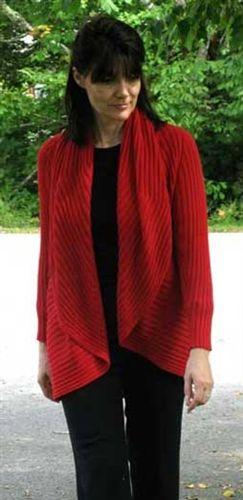 The Magic Sweater - one of the best selling sweaters from the Crystal Lake Alpaca Boutique!