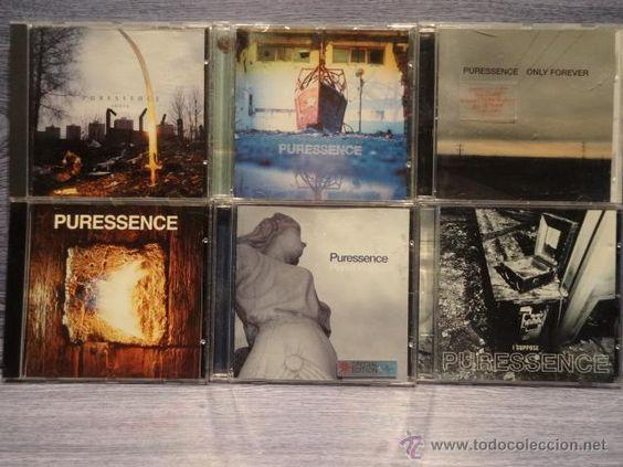 PURESSENCE. CONJUNTO DE 6 CDS EN CALIDAD LUJO.. BUENA OCASIÓN !!