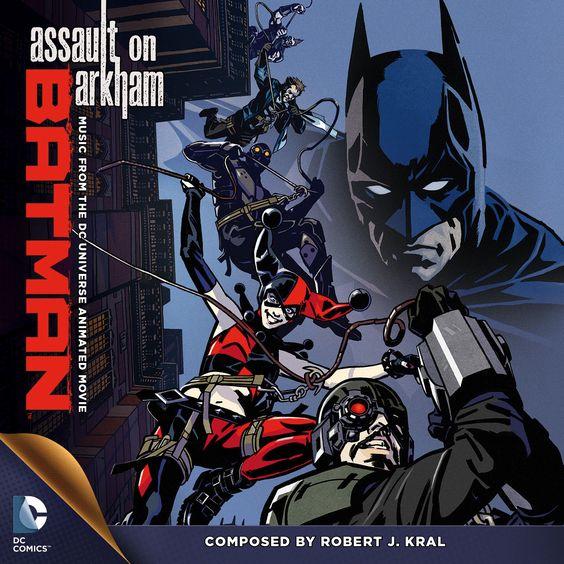 #Soundtrack to Batman: Assault on Arkham, by Robert J. Kral (Superman: Doomsday, Duck Dodgesrs) debuts 8/26 http://ow.ly/AcK3a