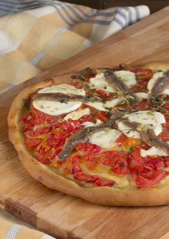 Pizza Napolitana. Receta italiana con Thermomix