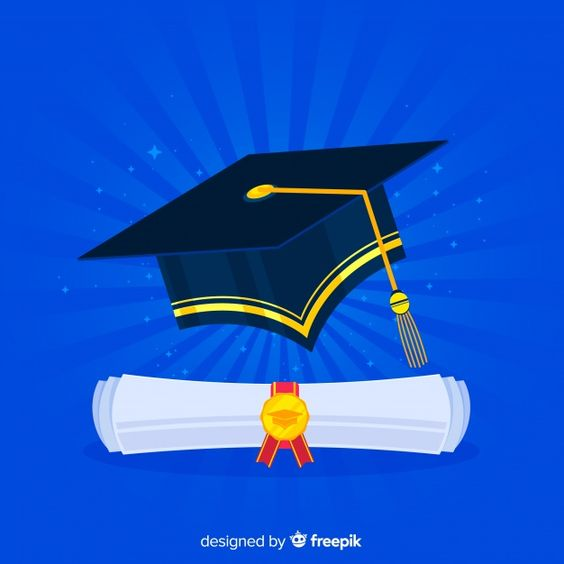 Download Graduation Cap And Diploma With Flat Design For Free Graduation Cap Graduation Diploma