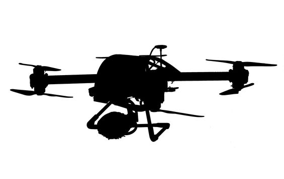 Sensors for professional drone drones with thermal imaging cameras and gas sensors
