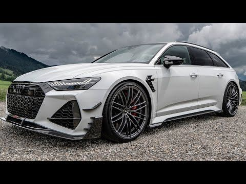 Beast 2021 Audi Rs6 R Avant Abt 740hp Grocery Getter Supercar Destroyer In Detail Youtube Audi Rs6 Audi Super Cars