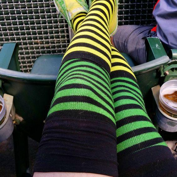 #OpeningDay #OaklandSockSwag #sockswag #LetsGoOakland #Athletics