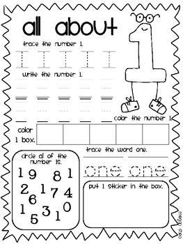 number book kindergarten preschool math pinterest kindergarten math math books and preschool. Black Bedroom Furniture Sets. Home Design Ideas