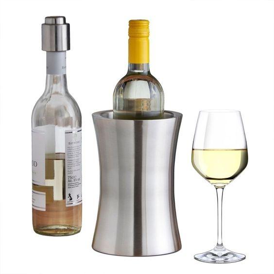 Modern Wine Cooler Dinner Party Summer Refresh Stainless Steel Drinks Bottles  http://www.ebay.co.uk/itm/Modern-Wine-Cooler-Dinner-Party-Summer-Refresh-Stainless-Steel-Drinks-Bottles-/142058330825?hash=item2113561ac9:g:VnUAAOSwsTxXjQk4