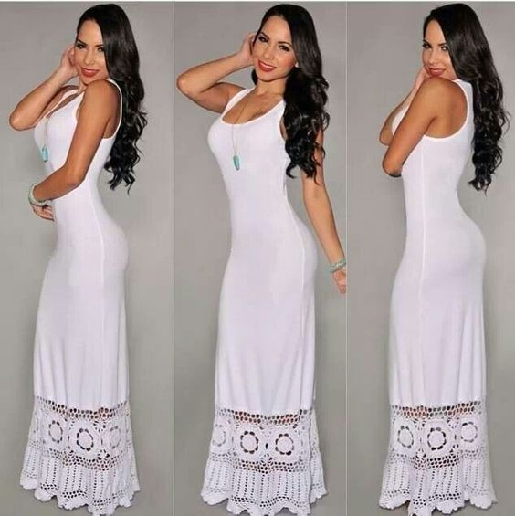 White beach dresses Beach dresses and Beaches on Pinterest
