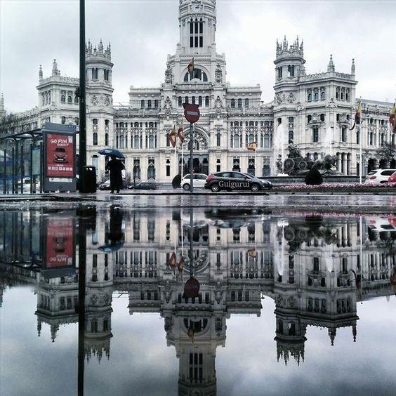 Reflejos de lluvia, Madrid