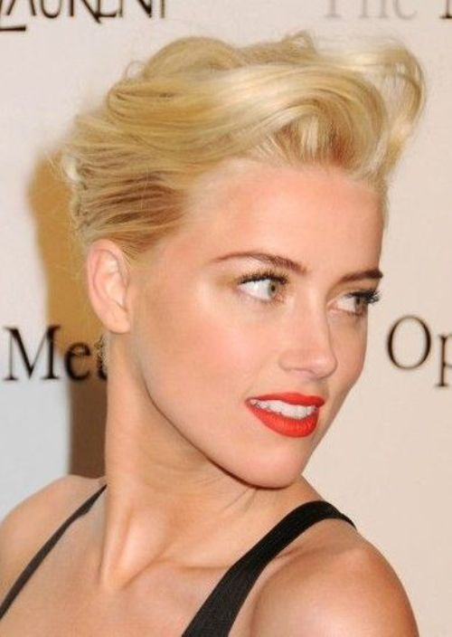 Best Hairstyle For Strapless Gown Medium Hair Styles Short Hair Updo Hair Styles