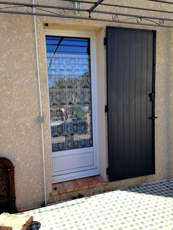 Exemples De Realisations De Volets Axe Fenetre In 2020 Outdoor Decor Doors