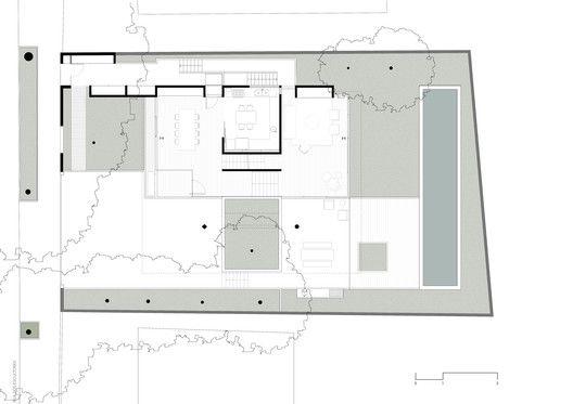 Gallery Of House Villa Lobos Una Arquitetos 24 House Ground Floor Plan Floor Plans