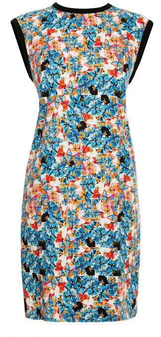 Tanya Taylor Reva Floral-Print Crepe-Jersey Dress MULTI on shopstyle.com