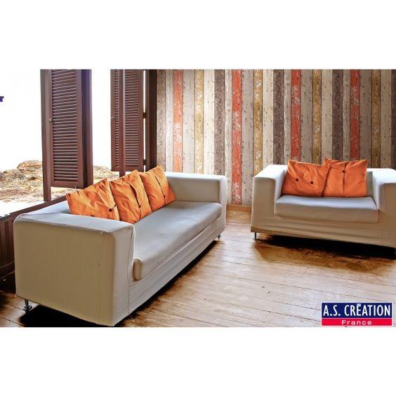 planches multicolores papier peint d co nouvelle. Black Bedroom Furniture Sets. Home Design Ideas