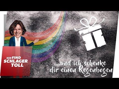 Jurgen Drews Und Ich Schenke Dir Einen Regenbogen Lyric Video Youtube Jurgen Drews Schenken Regenbogen