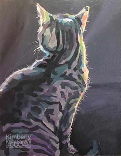 Pinta Gatos.    Kimberly Santini.