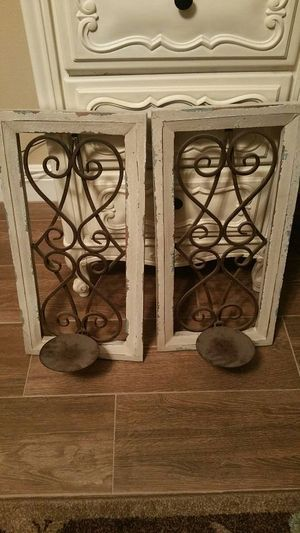 Wall Sconces At Hobby Lobby : Hobby lobby Wall sconce candle holders do it myself home awesomeness Pinterest Squares ...