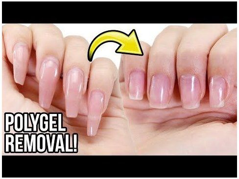Remove Polygel Nails Step By Step How To Tutorial How To Remove Polygel Nails Howtoremovepolygelnails Remove Polygel N In 2020 Polygel Nails How To Remove Nails