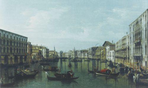 Bernardo Bellotto, The Grand Canal from Ca'Foscari, 1740 © Nationalmuseum, Stockholm, Sweden