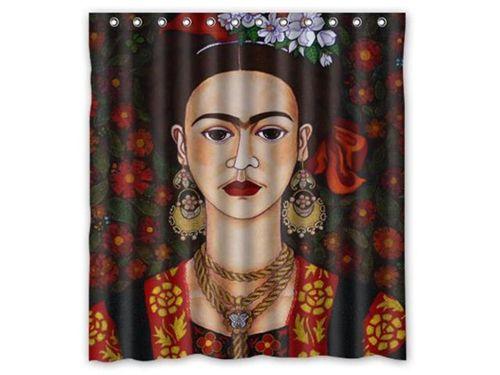 Frida Kahlo Painting Home Decor Shower Curtain Ai