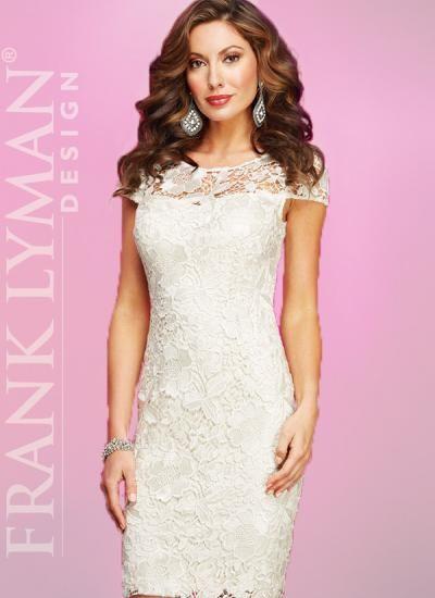 Frank Lyman Cream Lace Dress Beautiful And Feminine Floral