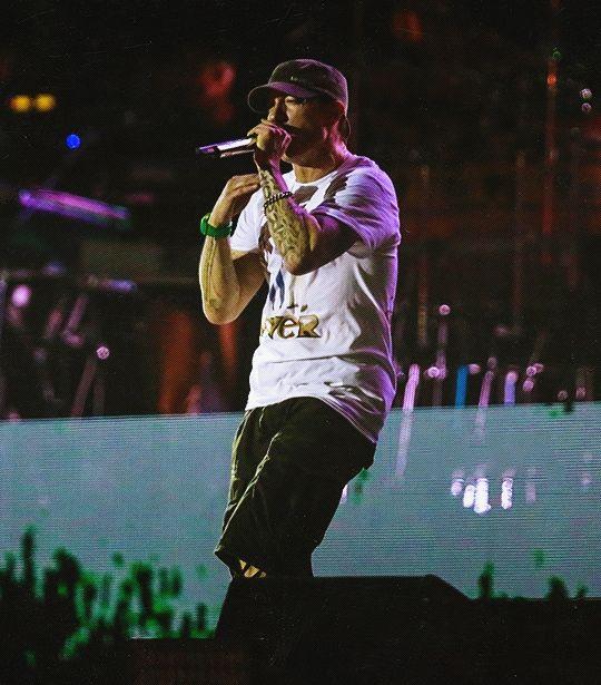 Marshall Mathers / Eminem / Slim Shady - Brazil Lollapalooza - March 11.2016.  Awesome captures of Em.