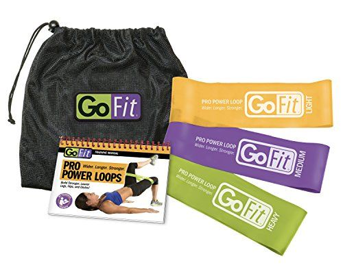 GoFit Pro Power Loops Resistance Band Training Set