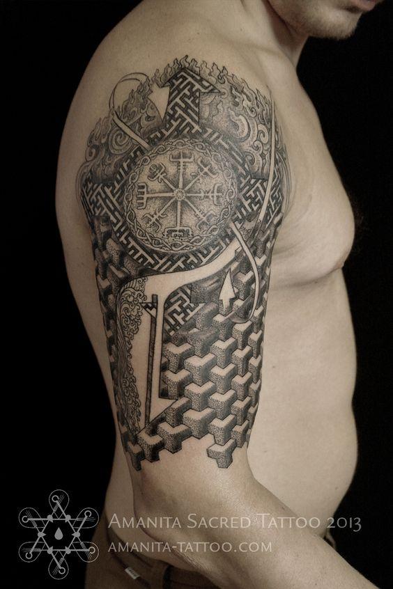 Татуировки с Рунами (подборка фото) D487e7b0dd532794a6ec8d0f34e2cf92