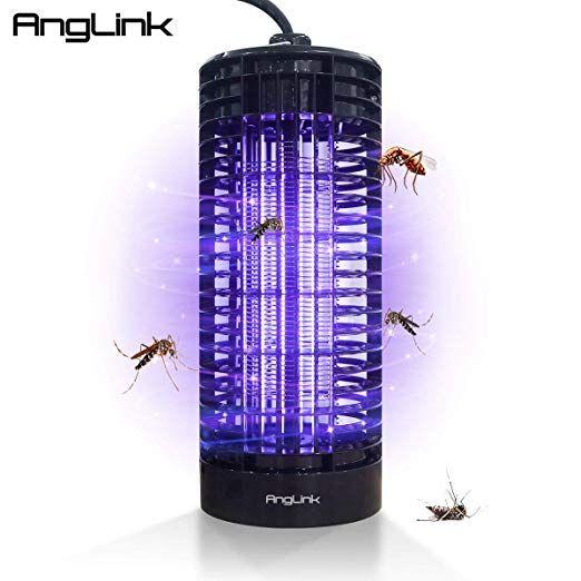 Anglink Lampe Anti Moustiques Electronique Led 6w Uv A 365 Nm Pour