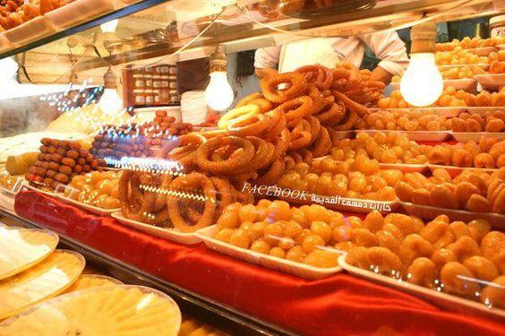من الحلويات الشعبية السورية