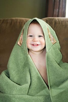 Nature's Heirloom: Hooded Towel Tutorial...