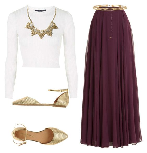 Burgundy maxi skirts Maxi skirt outfits and Skirt outfits on Pinterest