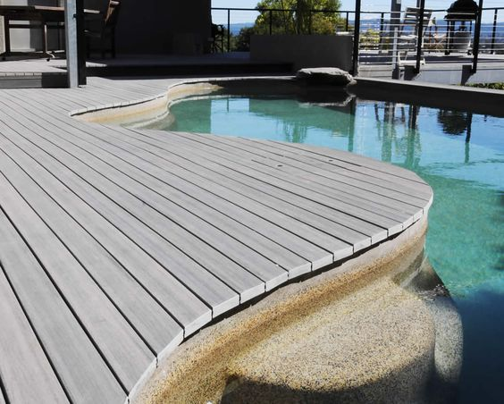 composite decking pool modwood sq from BoDa