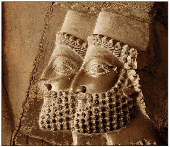 smiles in persepolis (iran)