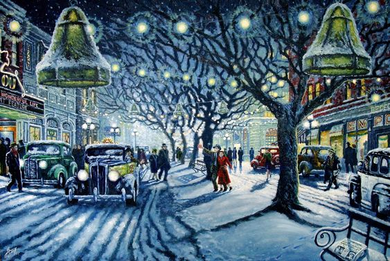 It's a Wonderful Life painting