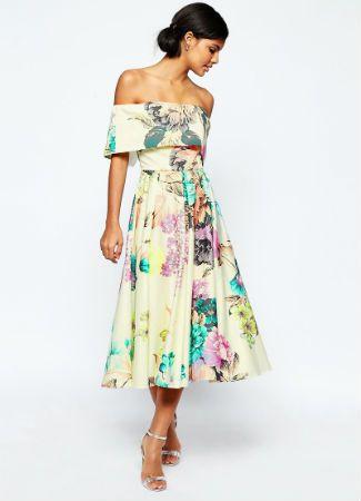 Vestido de invitada perfecta por menos de 100 euros de Asos Premium