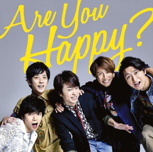 arashi are you happy 15th album 2016 are you happy cute japanese boys album