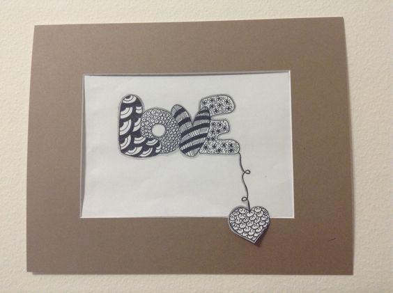 Cartão Zentangle