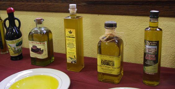 Gastronomía. Los aceites de Oliva Virgen Extra del Valle del Tiétar.