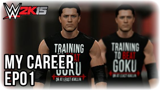 WWE 2K15 - My Career - The Beginning - EP1
