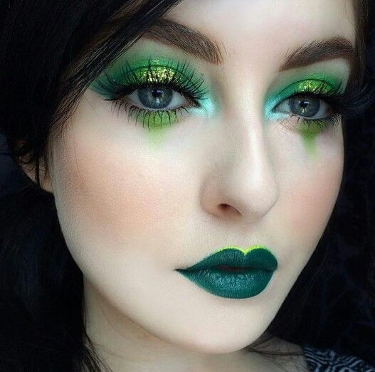 Makeup (with whatever color we select)
