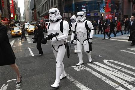 Storm Troopers? Why not...